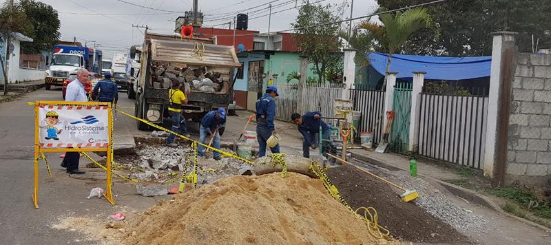 INICIA HIDROSISTEMA TRABAJOS DE REPARACION